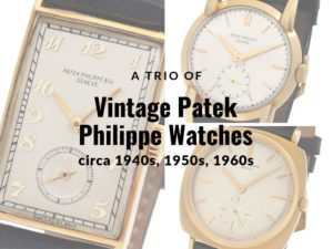 Vintage Patek Philippe Watches