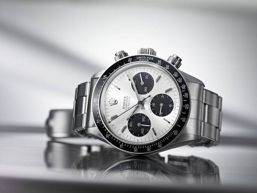 The vintage Daytona 6240 was the first to include screw-down chronograph pushers and an Oyster case