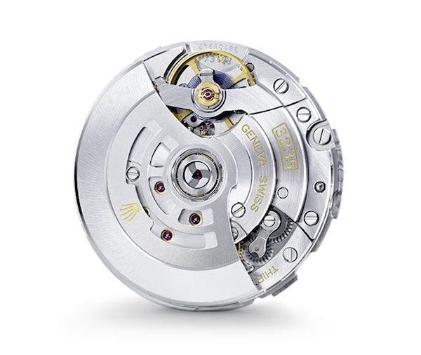 New generation Rolex Caliber 3235 automatic movement