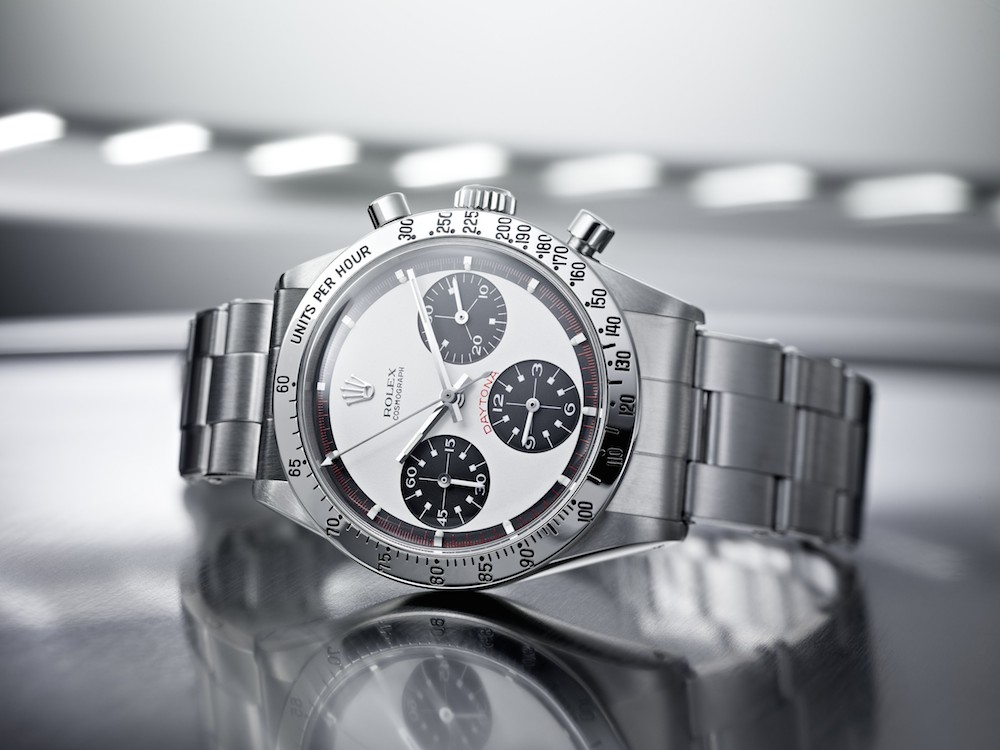 "The ""Paul Newman"" dial of the vintage Daytona"