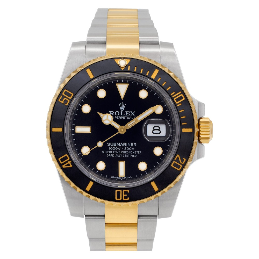 Two-Tone Rolex Submariner Date ref. 116613LN
