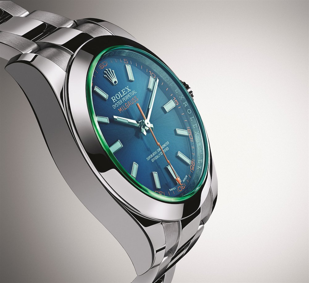 Milgauss 116400GV with Z-Blue dial