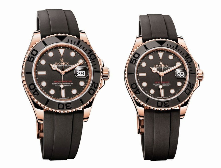 Everose Gold Yacht-Master models introduced at Baselworld 2015