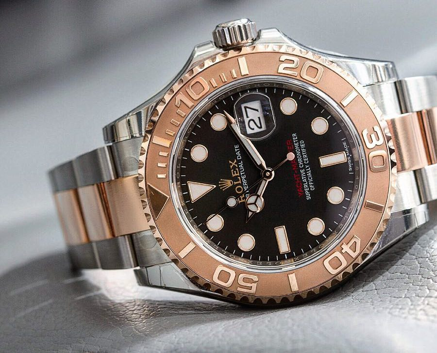 Men's Rolex Two-Tone Yacht-Master 40