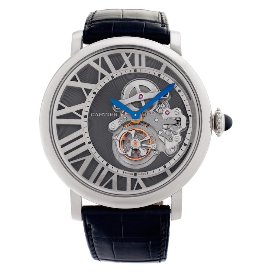High Complication Cartier Watches: Rotonde Flying Tourbillon Cadran Lové
