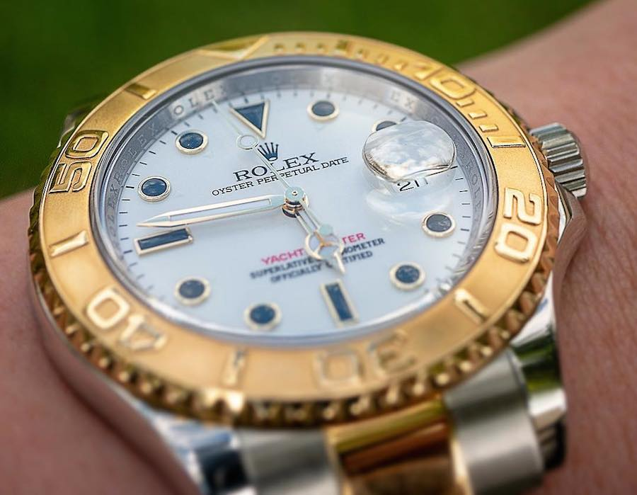 Men's Rolex Two-Tone Yacht-Master