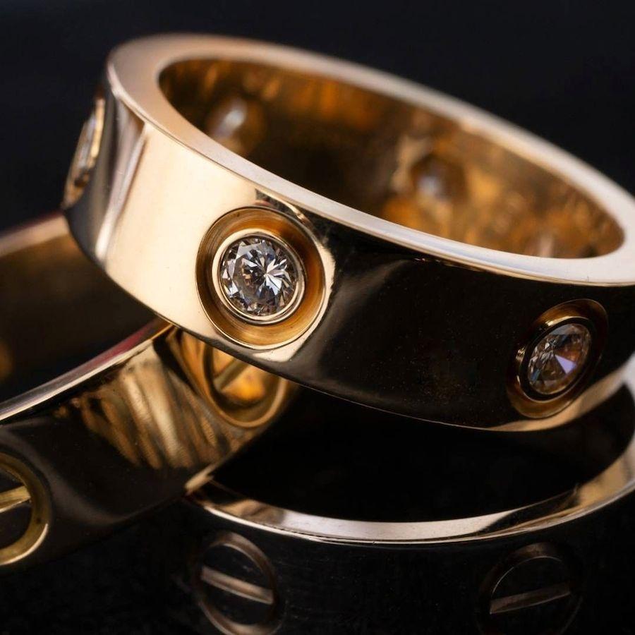 Cartier Love Ring Diamonds