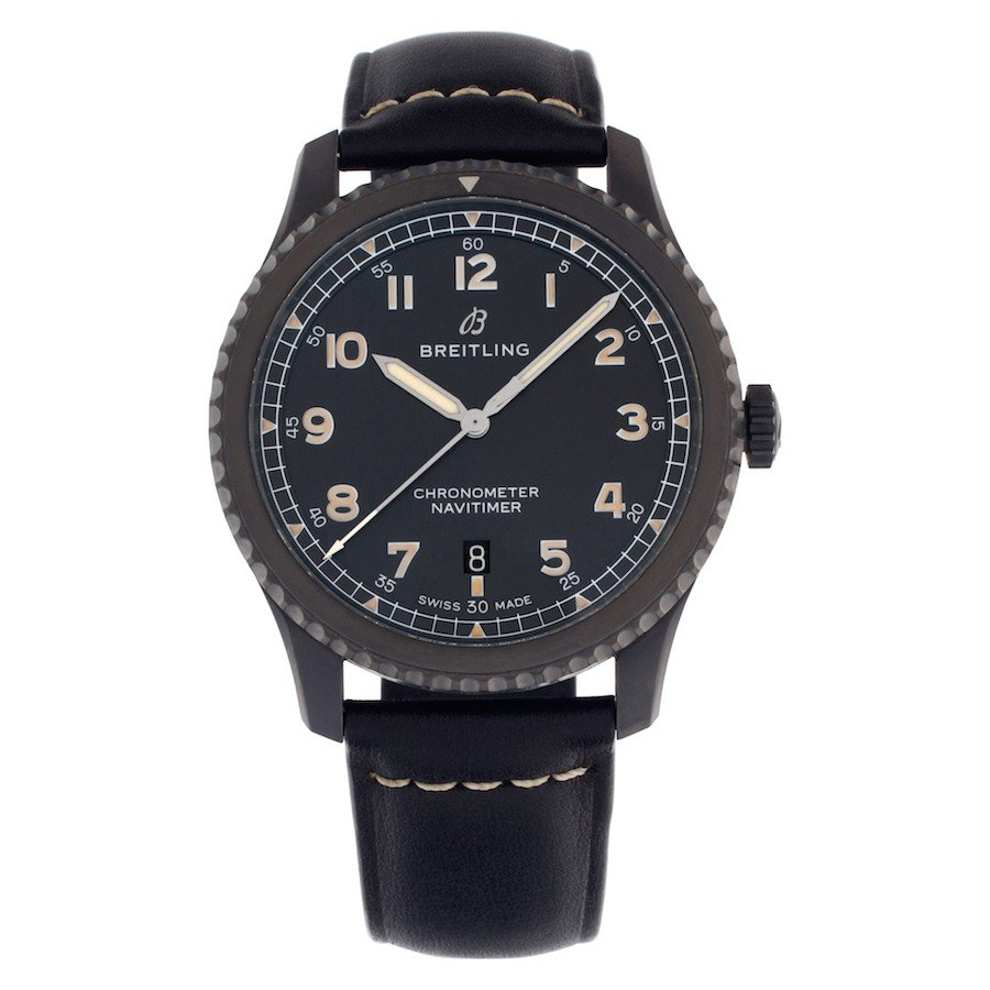 Black Luxury Watches: Breitling Navitimer 8 Automatic 41