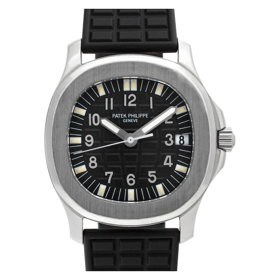 Black Luxury Watches: Patek Philippe Aquanaut