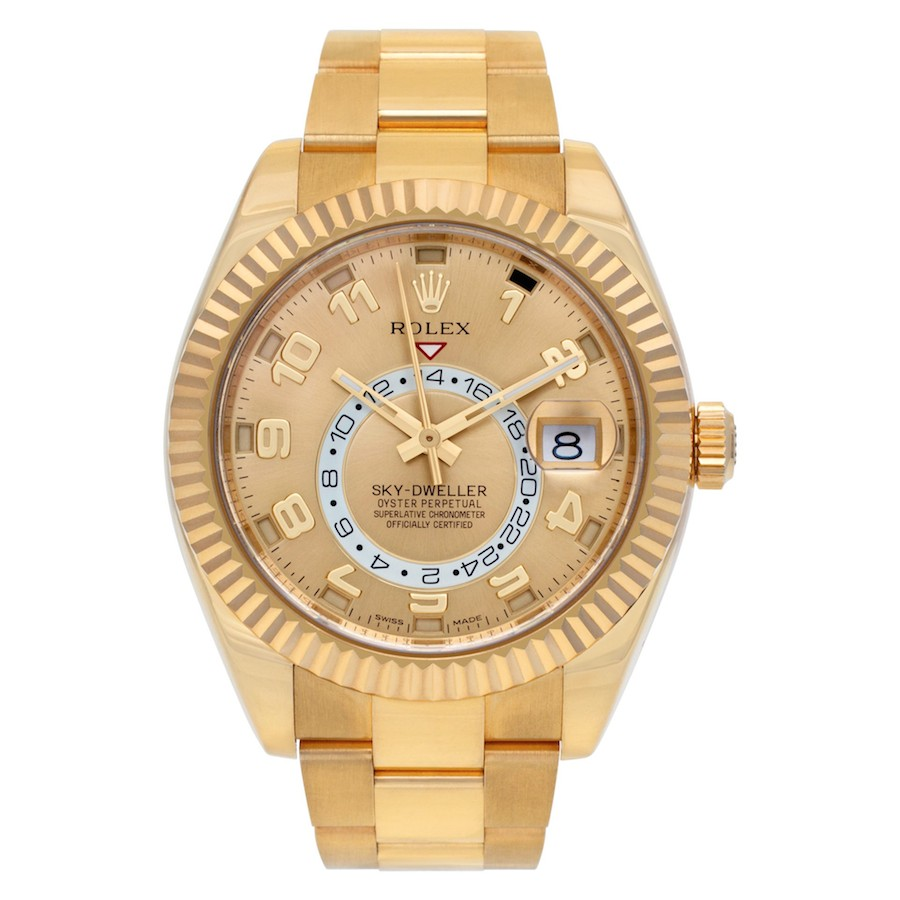 Pre-Owned Yellow Gold Rolex Sky-Dweller