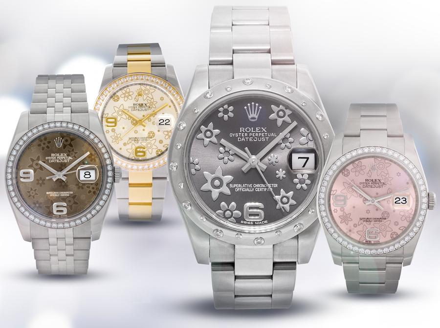 Rolex Floral Dials