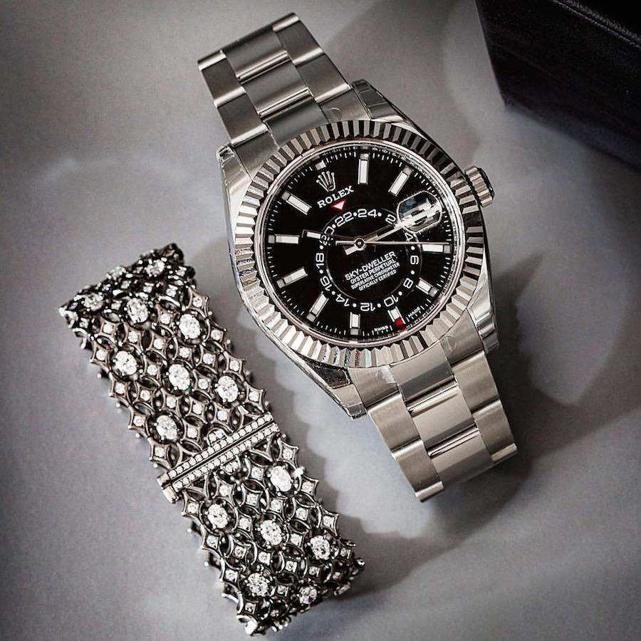 Rolex Watch: Sky-Dweller