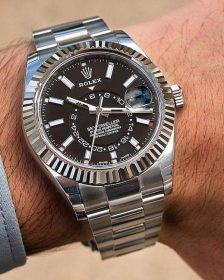 History and Evolution of the Rolex Sky-Dweller