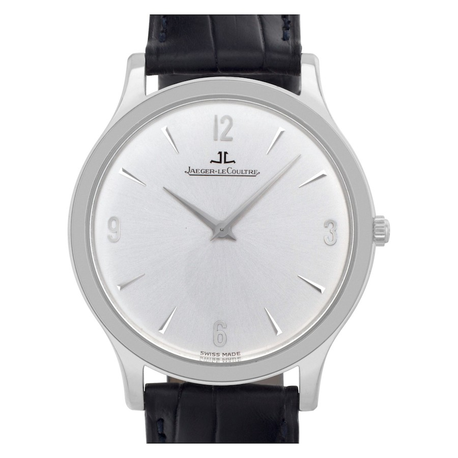 Simple Stainless Steel Luxury Watches: Jaeger LeCoultre Master Control Ultra Thin