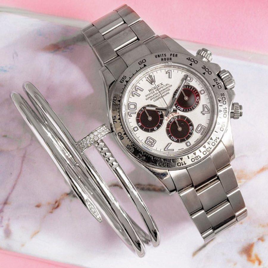 White Gold and Diamonds Cartier Juste Un Clou Bracelet