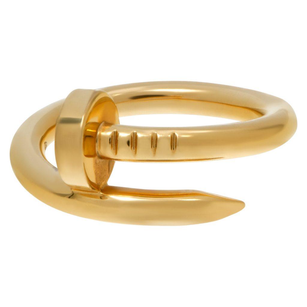 Yellow-Gold-Cartier-Juste-Un-Clou-Ring