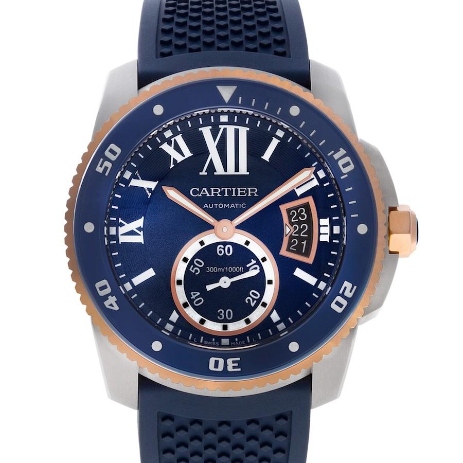 Blue Cartier Calibre Diver