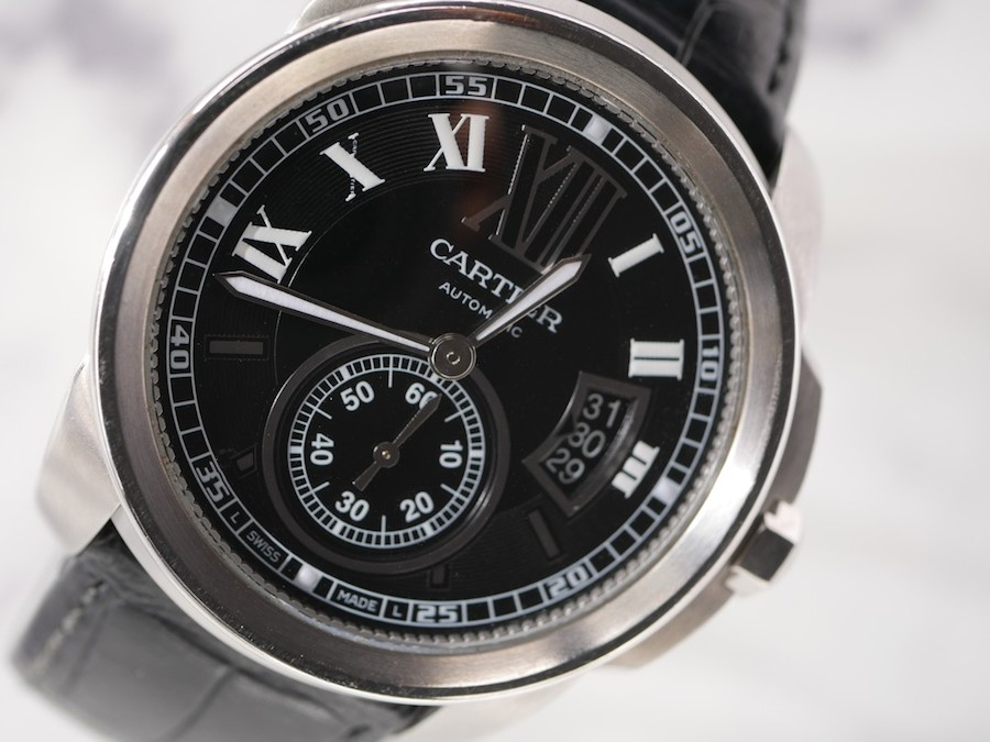 First in-house movement Cartier watch