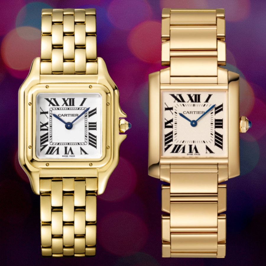 Cartier Panthere vs. Tank Francaise Watch