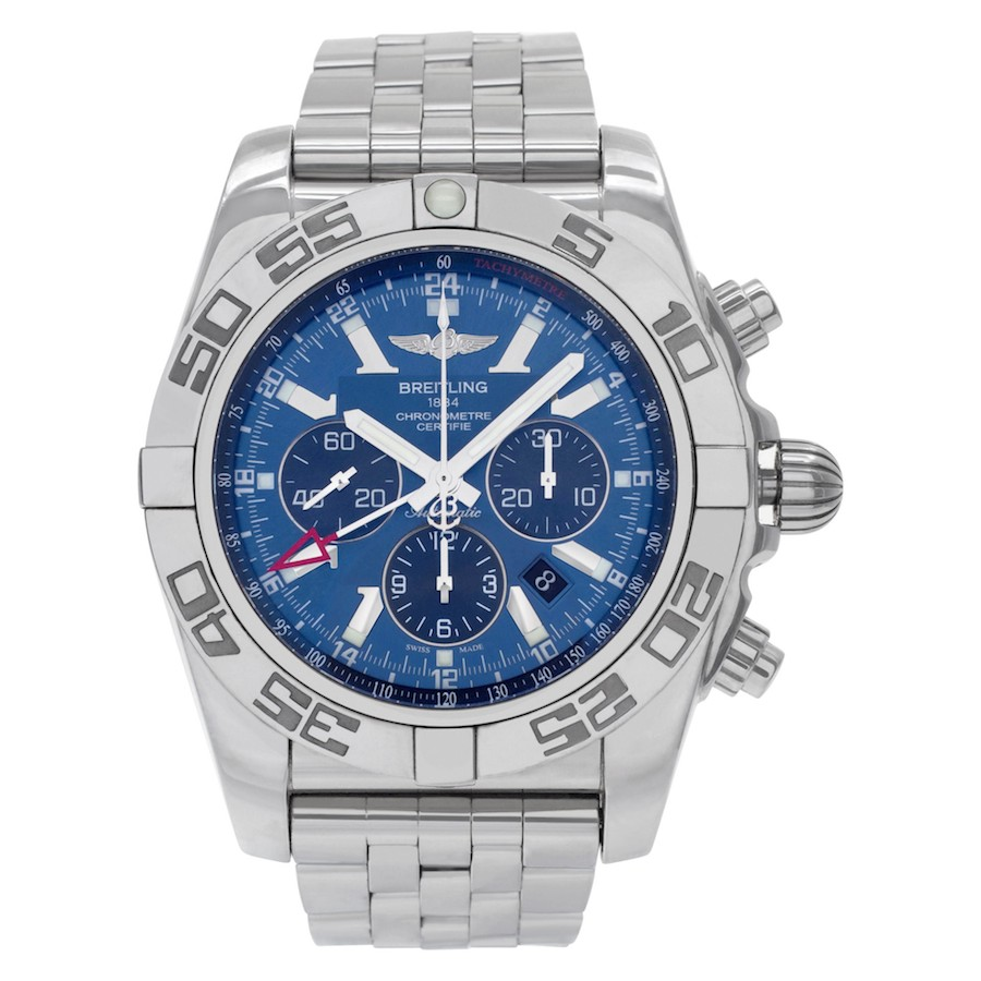 Blue Dial Watches: Breitling Chronomat