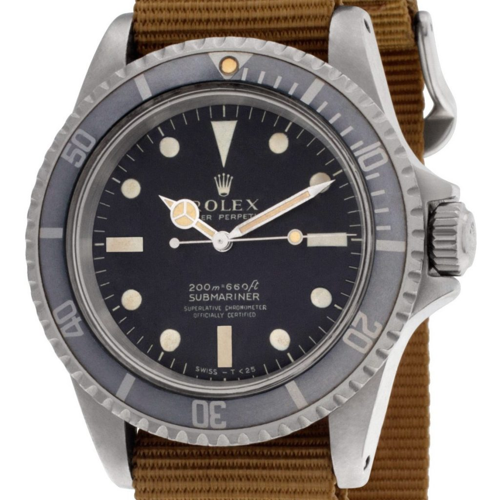 Submariner 5512 meters first, four lines