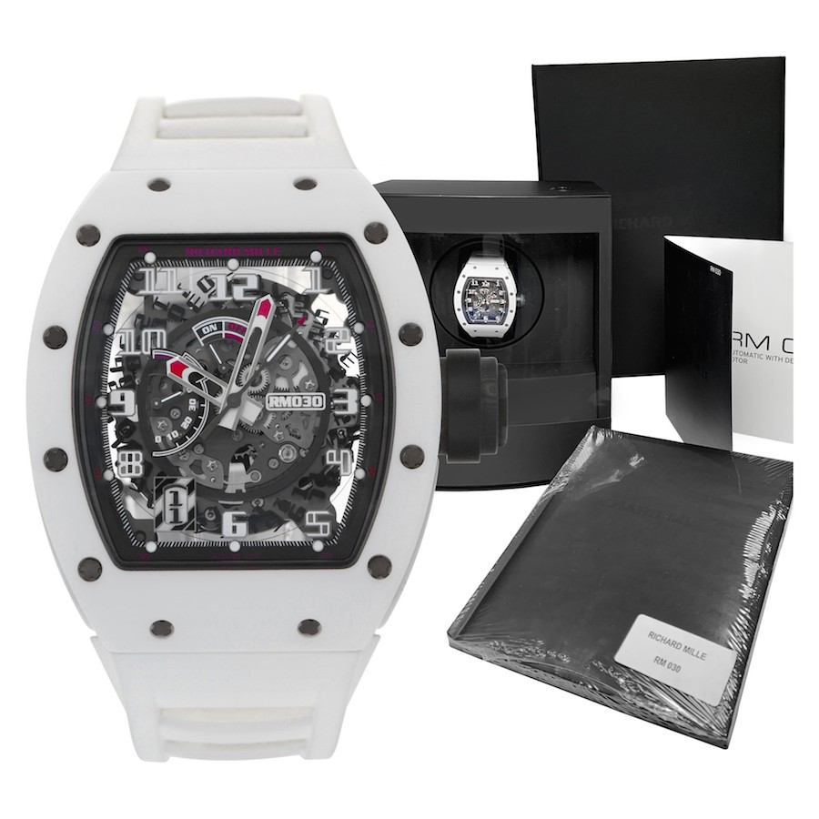 Used Limited Edition Richard Mille RM 030 White Rush