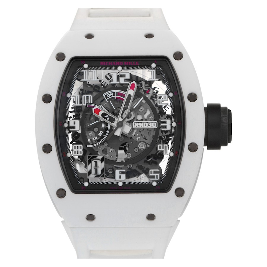 Richard Mille RM 030 White Rush