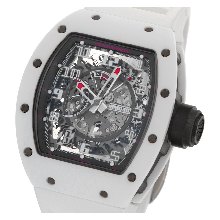 Used Richard Mille RM 030 White Rush