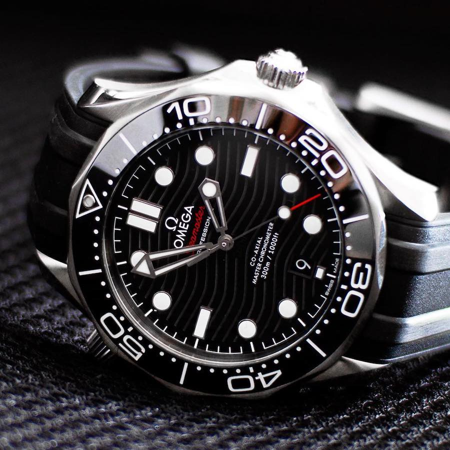 Luxury Watches Born in the 1990s: Omega Seamaster Diver 300M