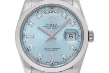 Rolex Platinum President 118206