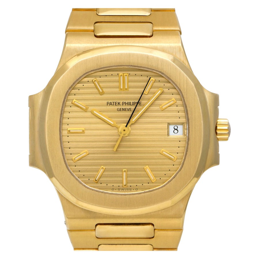 Patek Philippe Nautilus 3800 in Yellow Gold