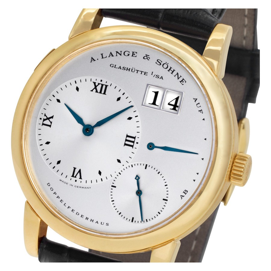 Luxury Watches Born in the 1990s: Lange 1