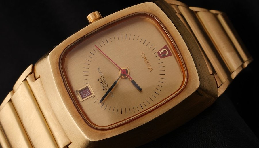 vintage watches: Omega Electroquartz