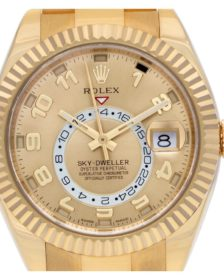 Pre-Owned Yellow Gold Rolex Sky-Dweller 326938