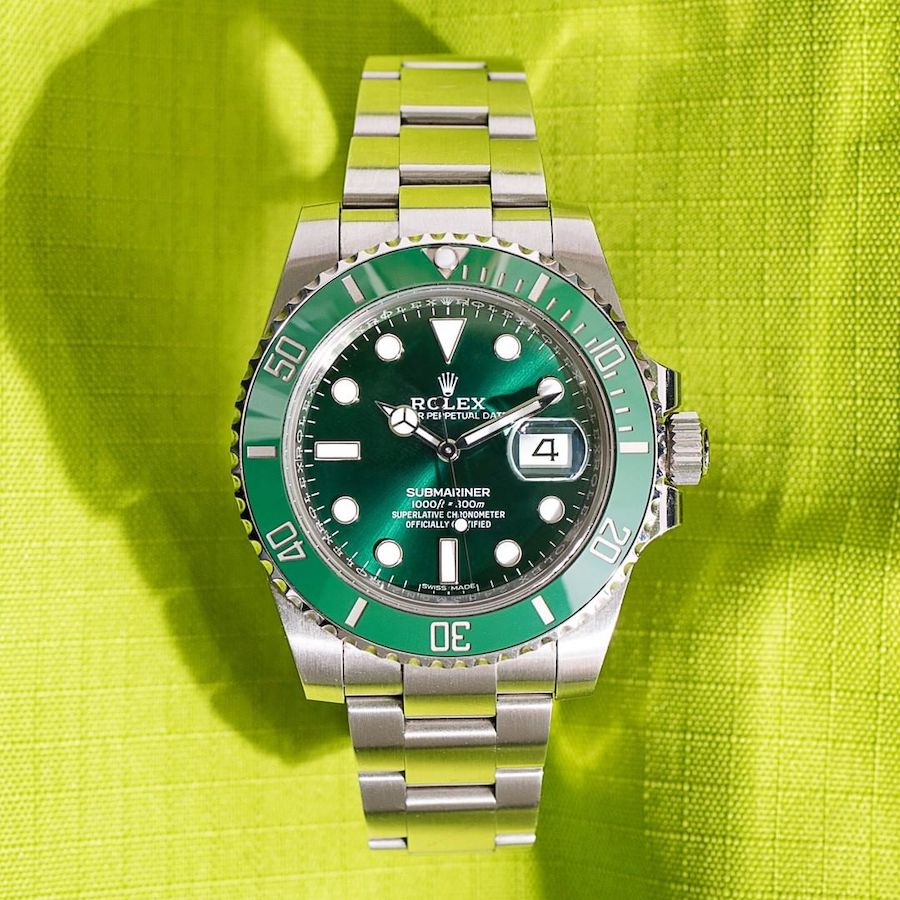 Rolex Watches Discontinued in 2020 - Submariner Hulk 116610LV