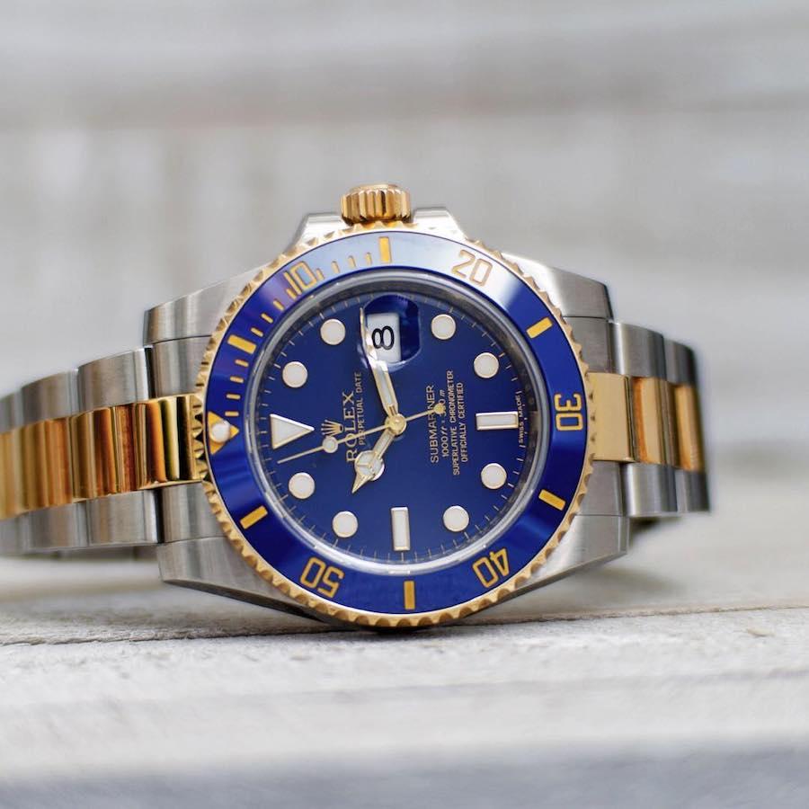 Rolex Submariner 116613LB Bluesy