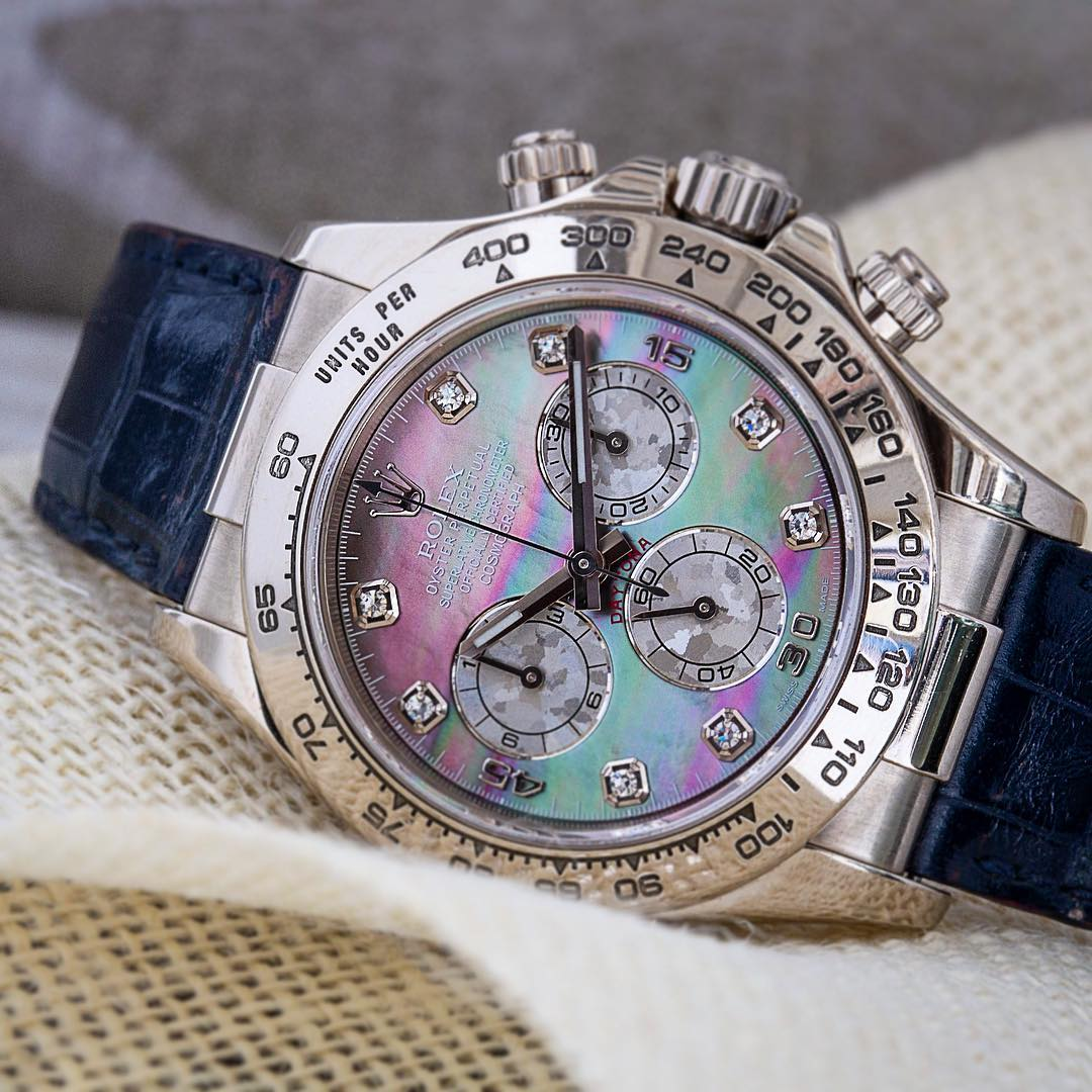 Rolex Daytona Watches with Metal Bezels