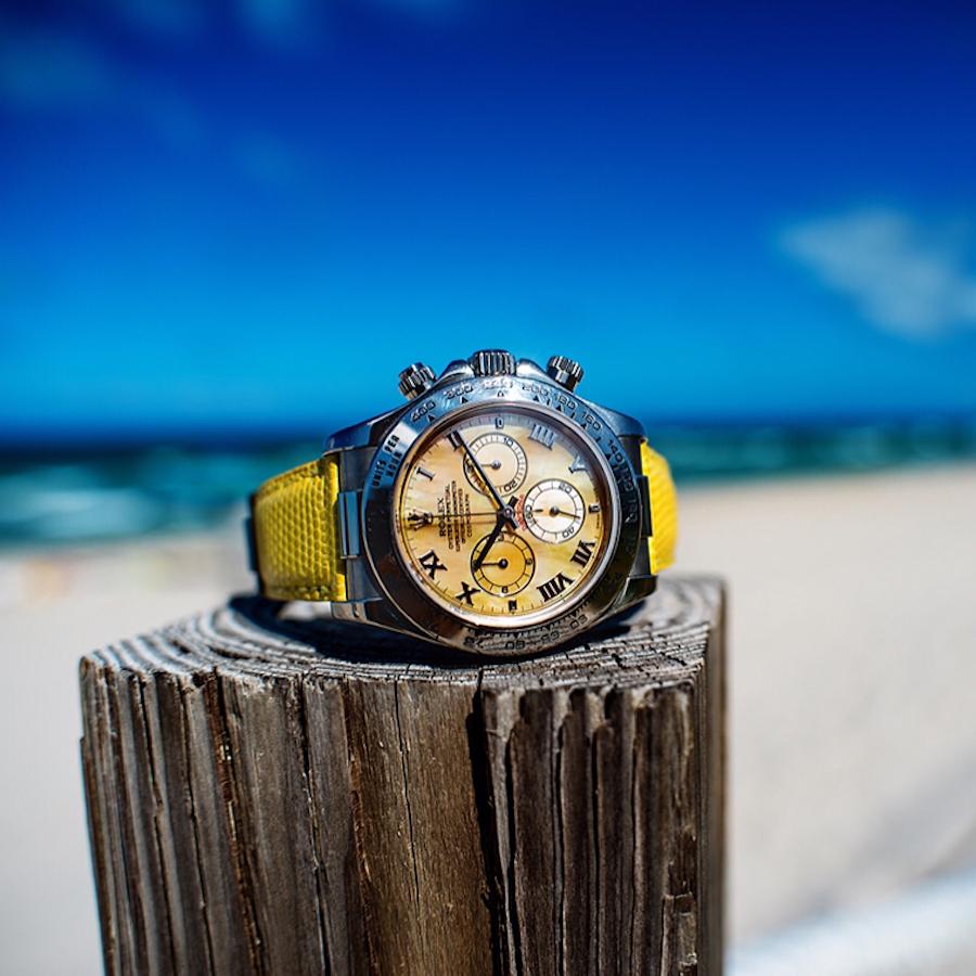 """Rolex Daytona """"Beach"""" in Yellow"""