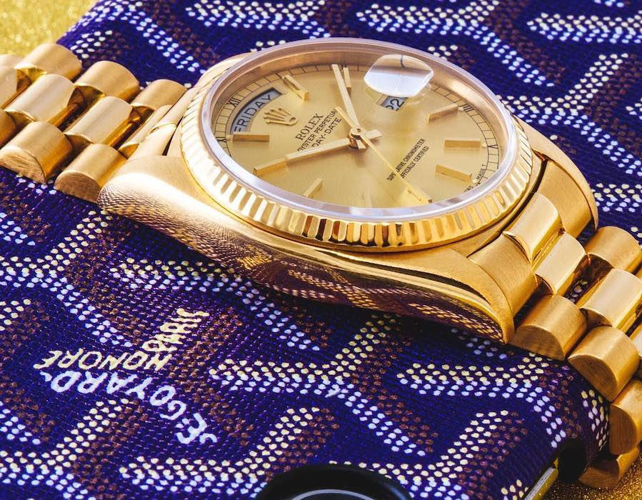 Yellow Gold Day-Date 36 Rolex Presidential