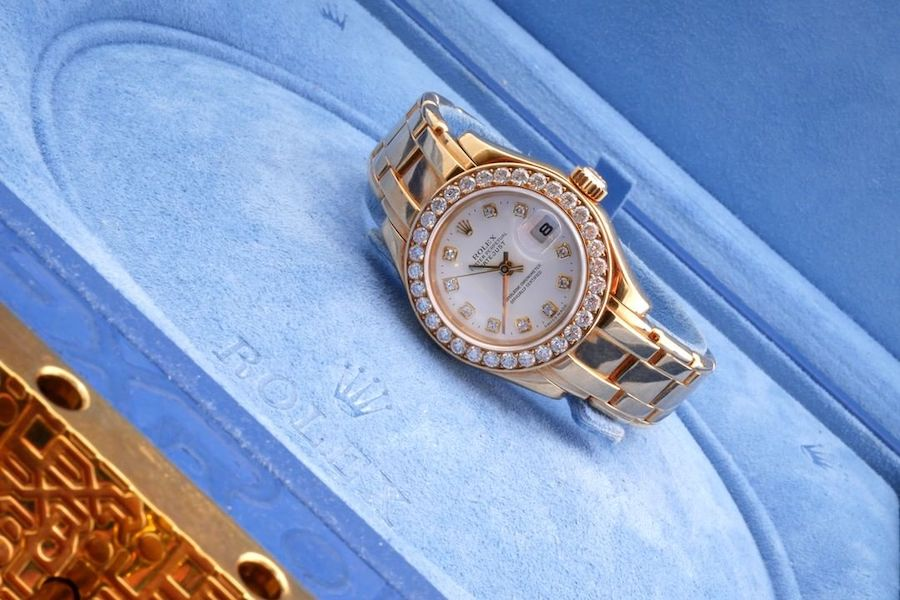 Ladies' Rolex Pearlmaster