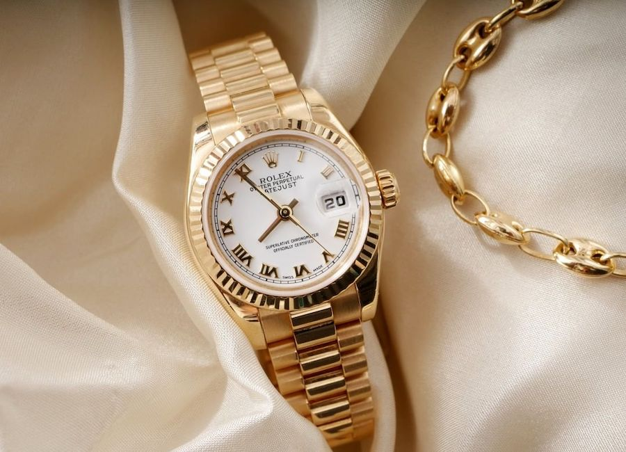 Full gold Lady-Datejust 26 with President bracelet