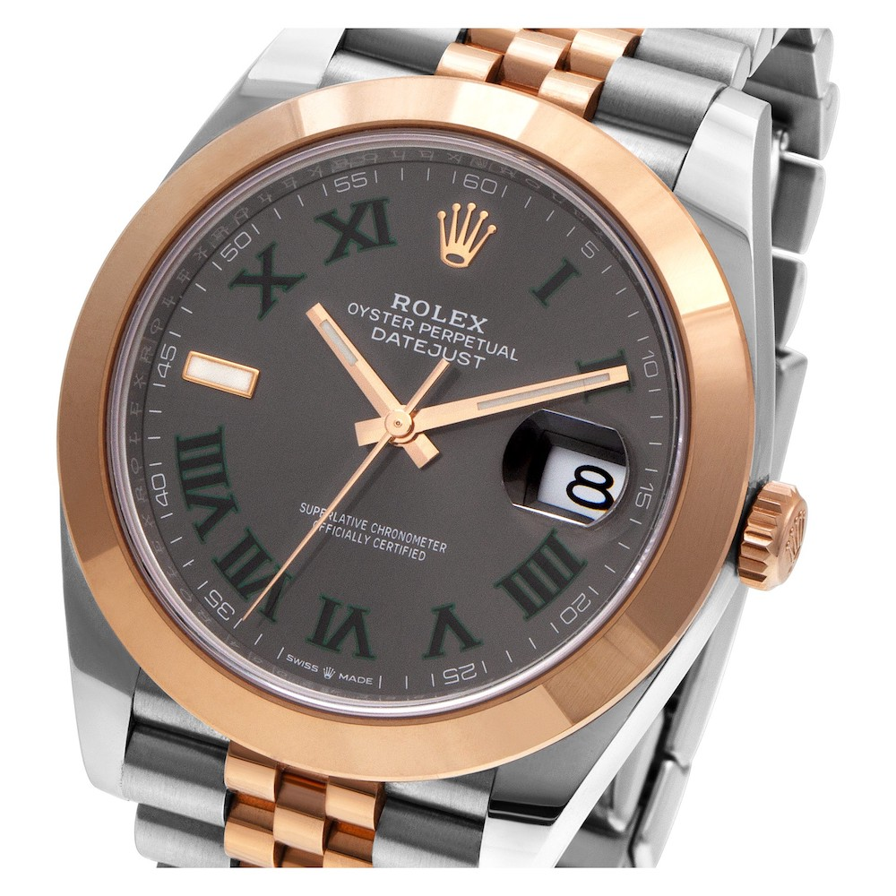 "Everose Rolesor Datejust 41 ""Wimbledon"""
