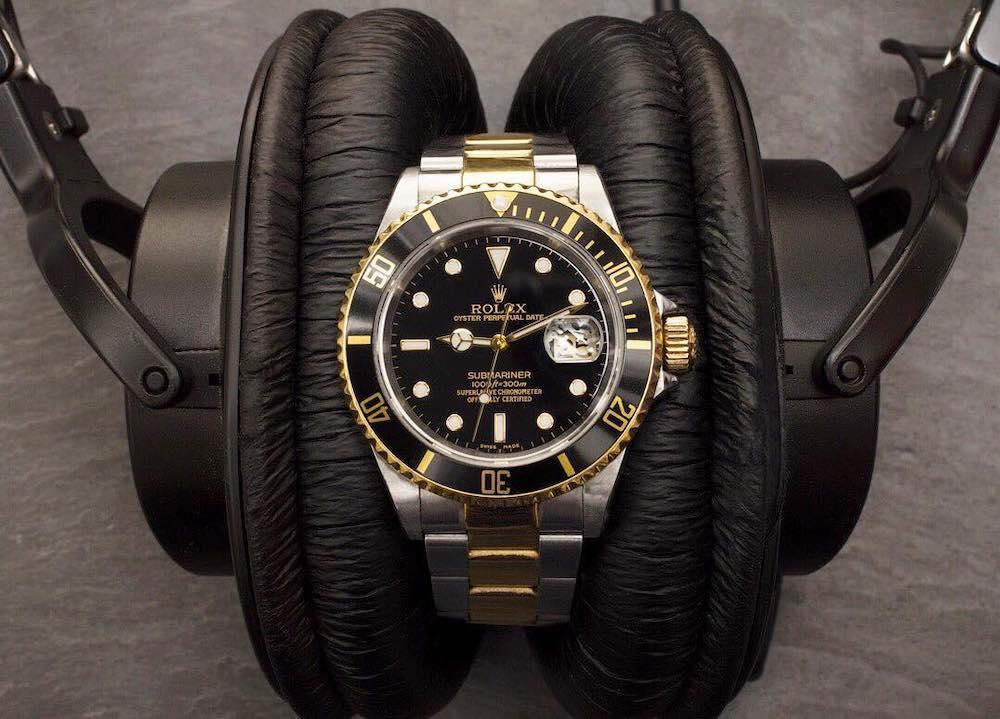 Men's Rolex Two-Tone Submariner