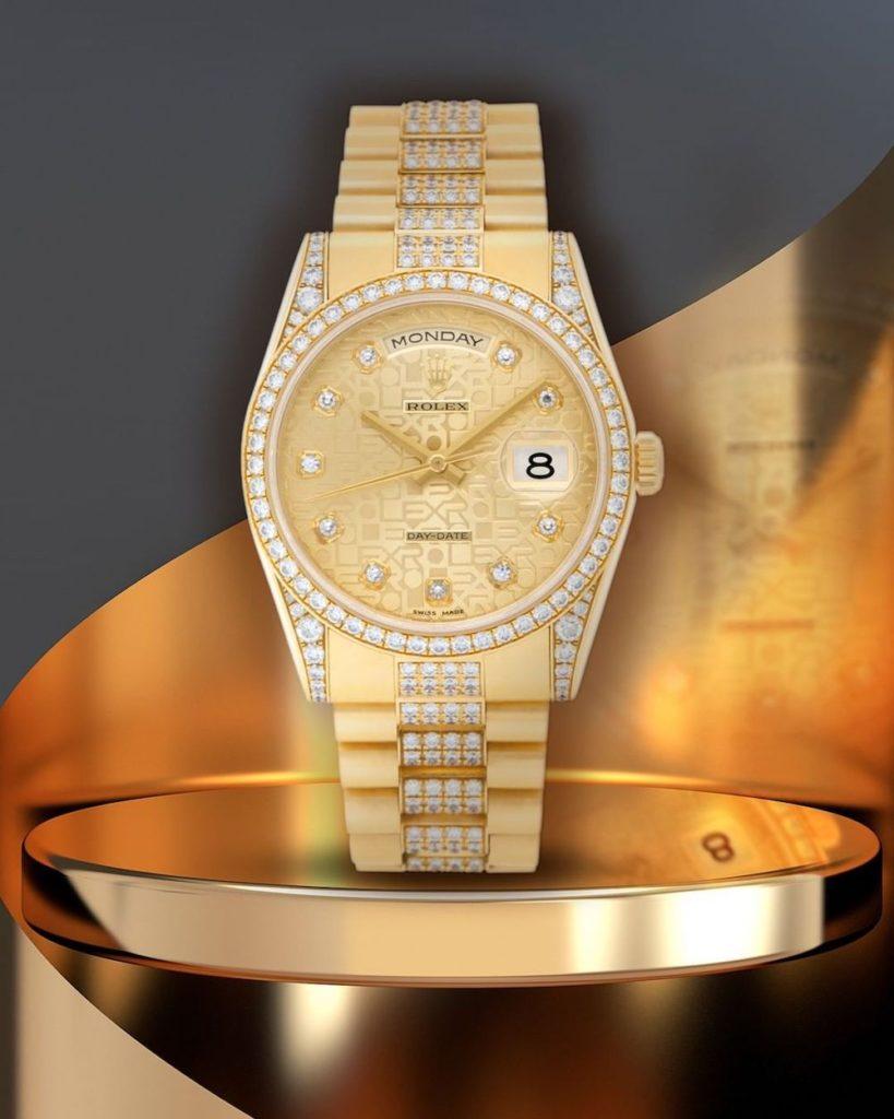 Diamonds Rolex Day-Date President