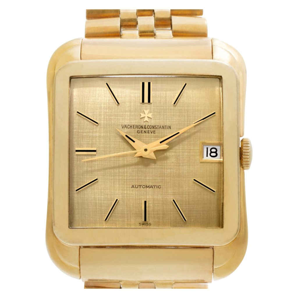 Vacheron Constantin-Cioccolatone 18k yellow gold 35mm automatic watch