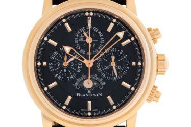 Blancpain Leman Perpetual Calendar Flyback Chronograph