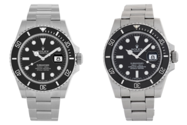 Rolex Submariner 41 vs. Submariner 40