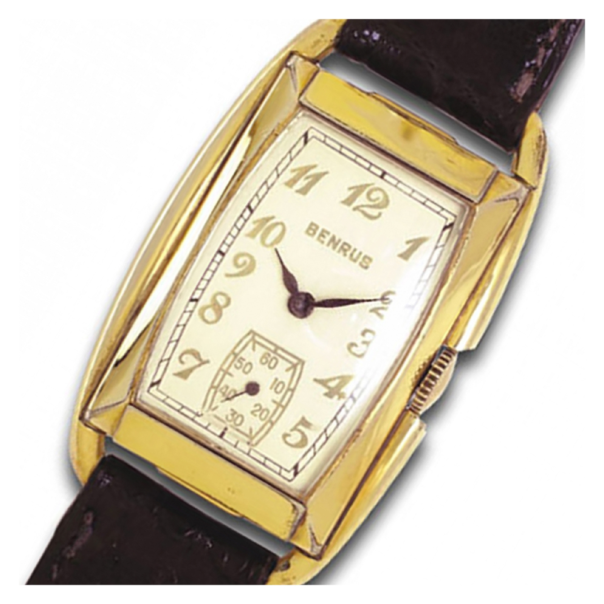 Vintage Benrus classic gold fill watch 1920