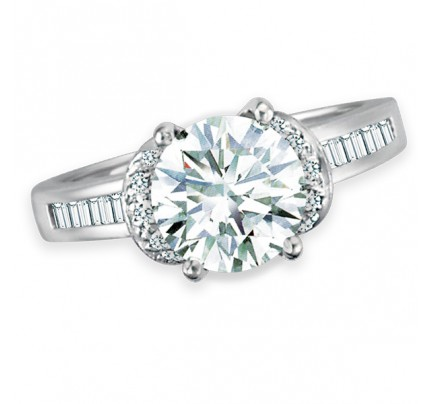 GIA Certified Diamond Ring - 1.88 cts (O-P Color, VS2 Clarity)
