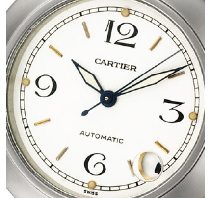 "Pre-Owned Cartier Pasha""C"" W31015M7"